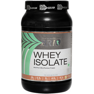 Brio Whey Isolate (1Kg, Cookies And Cream)