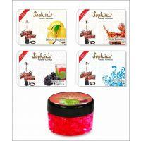 4 Different Hookah Flavours 50 Grams Each + Free 1 X 50 Gram Hookah Gel Flavour 003C