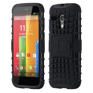 Envy Super Grip Case For Motorola Moto G (Black)