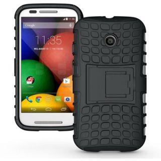 Envy Super Grip Case For Motorola Moto E (Black)