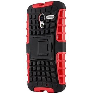 Envy Super Grip Case For Motorola Moto X (Red)