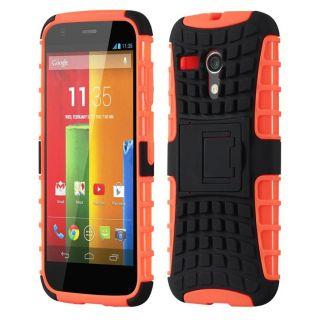 Envy Super Grip Case For Motorola Moto G (Orange)