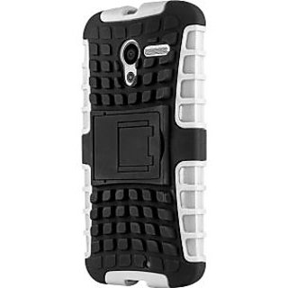 Envy Super Grip Case For Motorola Moto X (White)