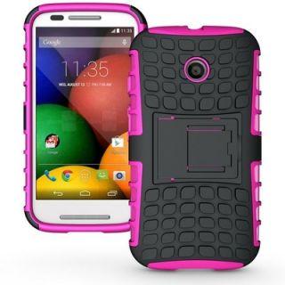 Envy Super Grip Case For Motorola Moto E (Pink)