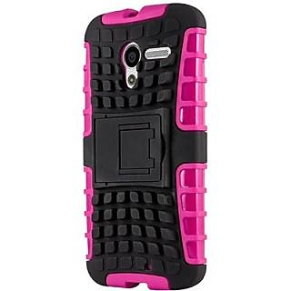 Envy Super Grip Case For Motorola Moto X (Pink)