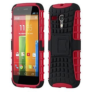 Envy Super Grip Case For Motorola Moto G (Red)