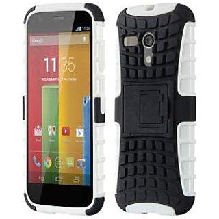 Envy Super Grip Case For Motorola Moto G (White)