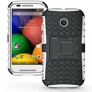 Envy Super Grip Case For Motorola Moto E (White)