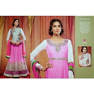 Ladies Anarkali Unstitched Suit