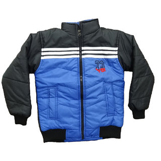 Alfa Yo Premium Full Sleeves Boys Padded Jackets - Blue