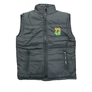 Alfa Yo Premium Sleeveless Boys Jackets - Black