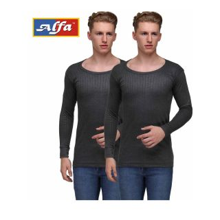 Alfa Hot Touch Upper Thermal Wear - Pack of 2 (Assorted Color)