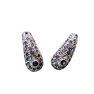 Riyo Alluring Amethyst Earring SEAME-2051
