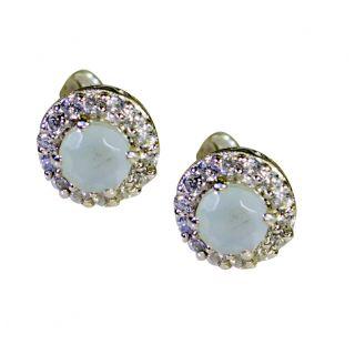 Riyo Angelicstar Blue Chalcedony Earring SEBCH-8012