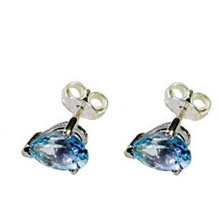 Riyo Superbstar Blue Topaz Earring SEBTO-10036