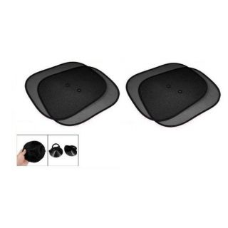 Car Auto Window Side Sunshade Set Of 4 Pieces