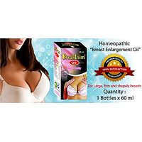 Breast Massage Oil  Increases Size, Firm And Shapely- REpl Breasttrim OIL- 60 Ml