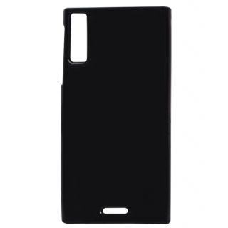 best sneakers 00aee 69211 Silicon soft Back Cover Cases For Xolo Q600s -Black