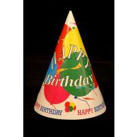 Happy Birthday Party Hats Set Of 10