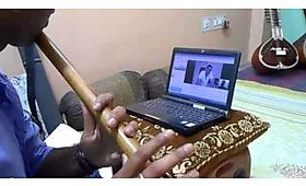 Online Live, One-on-One Bansuri Flute Training Program - 12 Skype Lessons