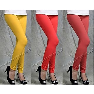 LEGGINGS 3 PIECE OF COMBO  PACK WITH GOOD QUALITY AND CHEAPEST LOWEST PRICE
