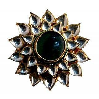 Porcupine Beautiful Kundan Ring