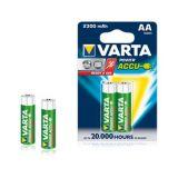 VARTA POWER ACCUS 2AA 2300mAh Rechargeable Batteries