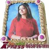 Personalized Edible Photo Cake-Delhi NCR
