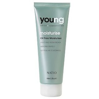 Natio Young For Oily Combination Skin Moisturise Oil Free Moisturiser