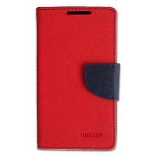 Mercury Goospery Flip Cover For Samsung Galaxy Ace NxT (G313H) Red