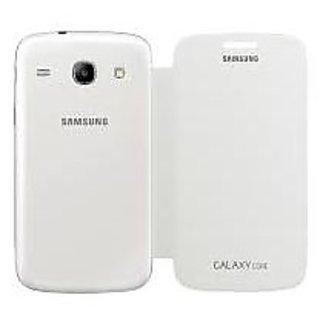 Gci Flip Cover For Samsung Galaxy Core (White)