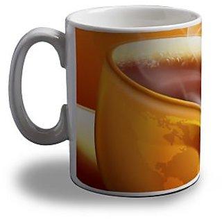 Hot Coffee Print Coffee Mug