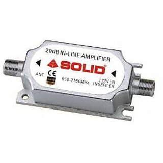 SOLID 20dB Coaxial Line Amplifier