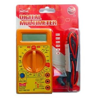 BRANDED DT830D DIGITAL MULTIMETER (LCD DISPLAY) WITH PROBES