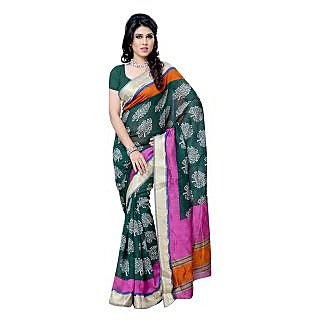First Loot Party Wear Saree-DFS504C
