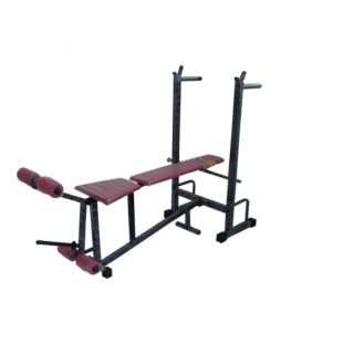 Multi Purpose 6 in 1 Bench Press for Home gym Exercises Body Maxx