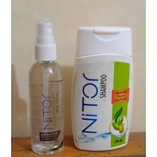 Nitor Hair Serum+Nitor Hair Fall Control Shampoo
