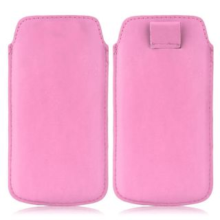 Wow Pu Leather Pull Tab Protective Pouch For Nokia X (Pink) 4PTLpinkNokiaX+