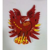 Feng Shui Red Phoenix Symbol Of Fame  Reputation 6inches - Feng Shui Product