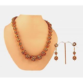 Porcupine Balls Necklace Set PN-JW-NS-48