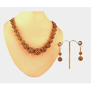 Porcupine Balls Necklace Set PN-JW-NS-50