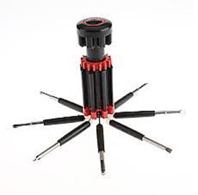 8 In 1 Multiscrewdriver Powerful Torch Kit