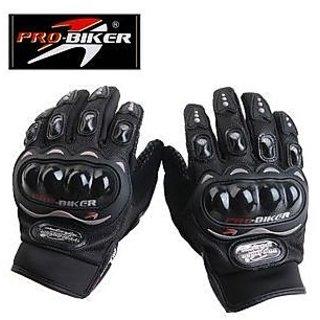 New Bike Racing Probiker Motorcross Motorcycle Riding Gloves Black Size Xlblk