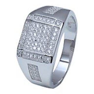 Feel Unique with AMAN Sterling Silver Ring for Gents and for women