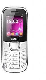 ADCOM X10 Dual Sim Mobile With Whatsapp  Facebook Black