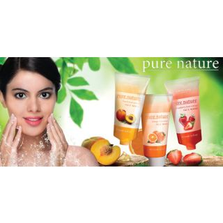Pure Nature Peach Fruit Extract Face Wash - 50ml