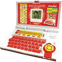Prasid English Learner Kids Laptop 20 Activities (Red)