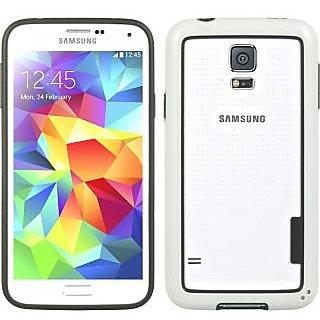 Wow Bumper Case for Samsung Galaxy S5 - White BumpSS5White