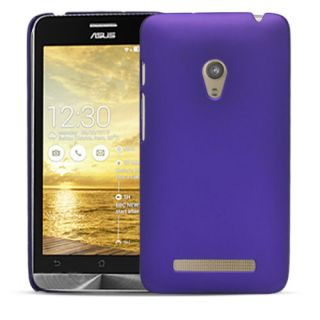 Wow Rubberized Feather Finish Matte Hard Protective Case For Asus Zenfone 6 A600cg / A601cg - Dark Purple MTAZen6DPurple