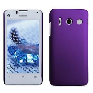 Wow Matte Rubberized Finish Hard Case For Huawei Ascend Y300 -Dark Purple MTHAY300DPurple